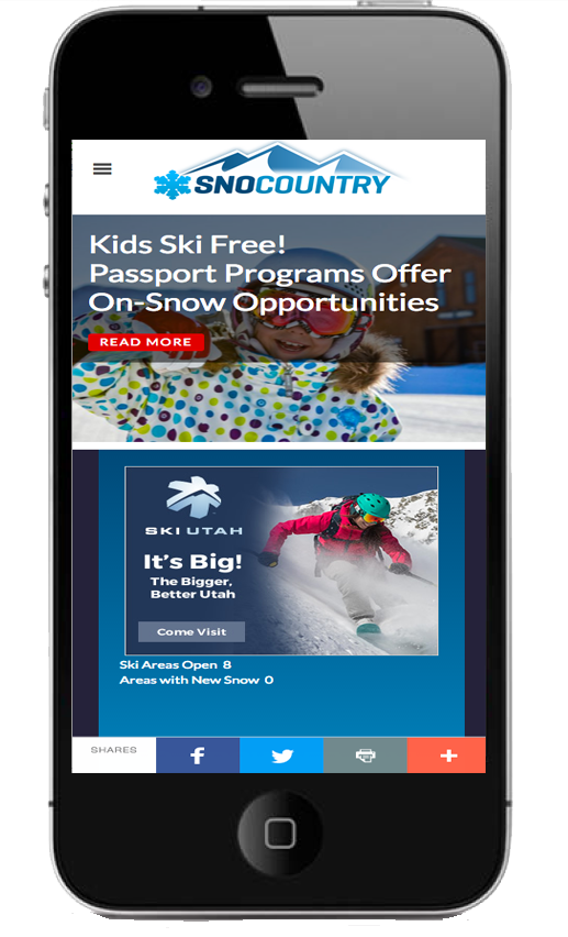 snocountry mobile web